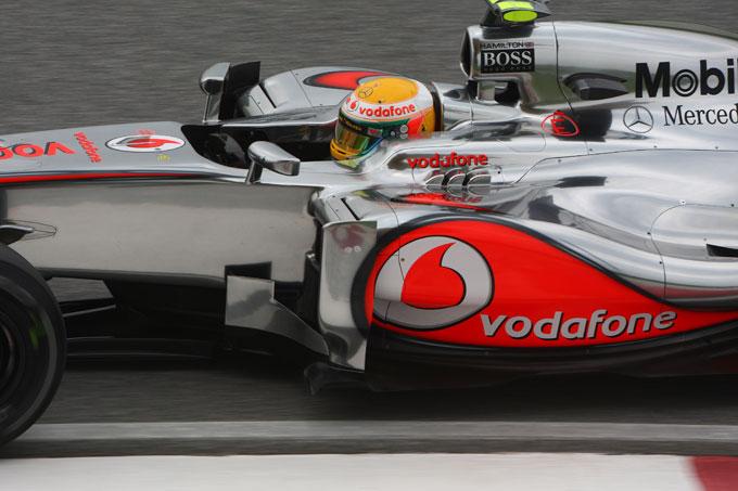 GP Cina: Hamilton penalizzato di cinque posizioni in griglia