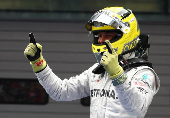"""Mercedes, Nico Rosberg: """"E' una sensazione incredibile. E' fantastico"""""""