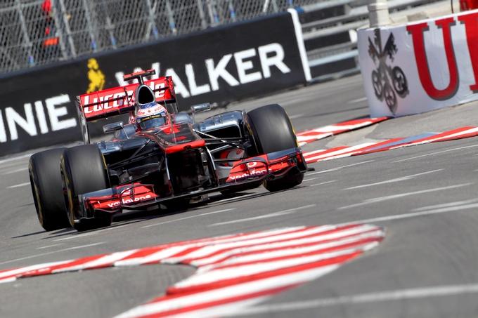 GP Monaco, Prove Libere 2: Button al top, poi la pioggia rovina i piani