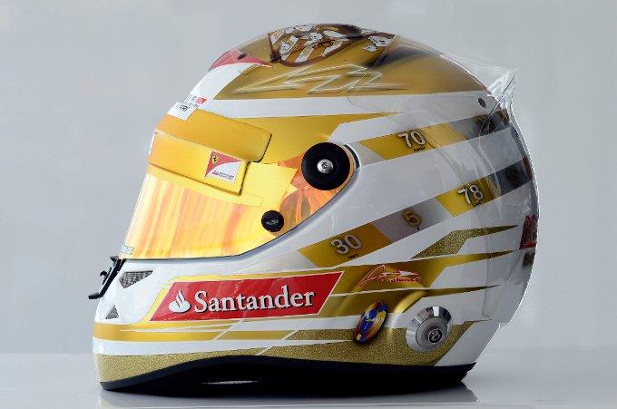 Un nuovo casco per Fernando Alonso in occasione del GP di Monaco