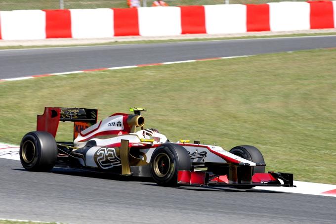 Il cinese Qing Hua testerà la HRT a Silverstone