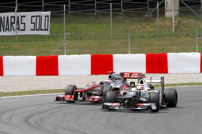 """Kobayashi: """"Il podio era possibile qui in Spagna"""""""