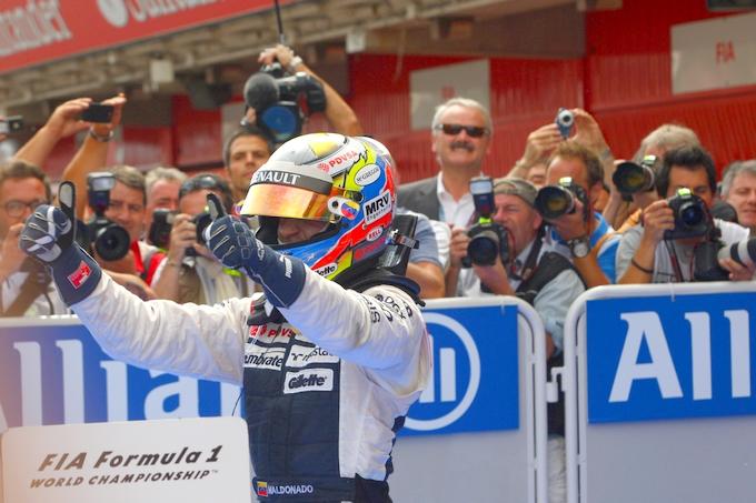 """Maldonado: """"Alonso era vicinissimo, ma il ritmo mi ha salvato"""""""