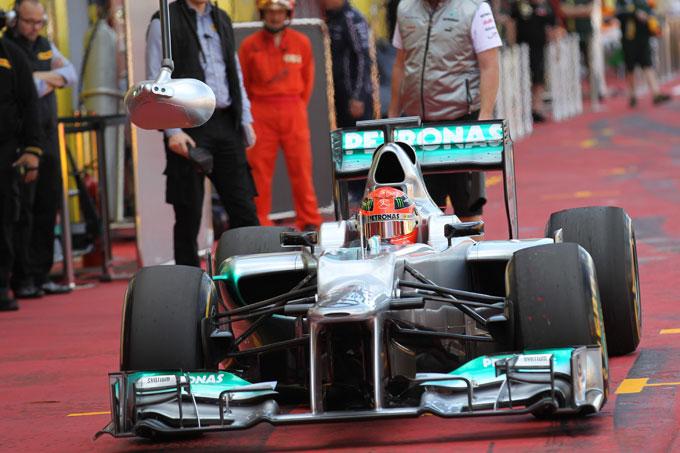 La Mercedes valuta ancora il ritiro dalla F1?