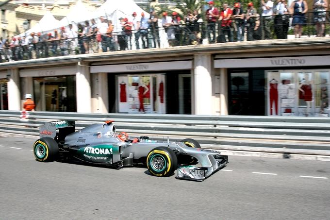 Schumacher elogia la sicurezza del circuito di Monaco