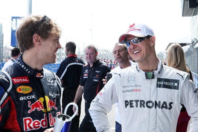 """Vettel: """"Esagerate le critiche di Schumacher alla Pirelli"""""""