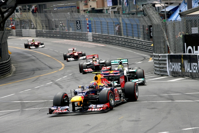 GP Monaco, Webber vince davanti a Rosberg, Alonso 3°