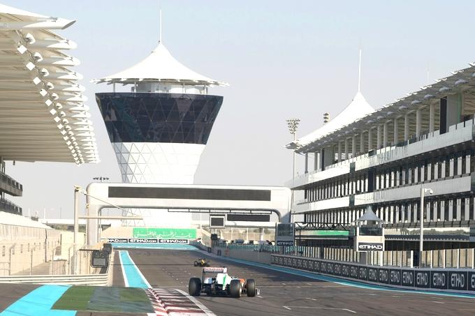 Yas Marina contro la decisione di spostare i test dei Giovani Piloti a Silverstone