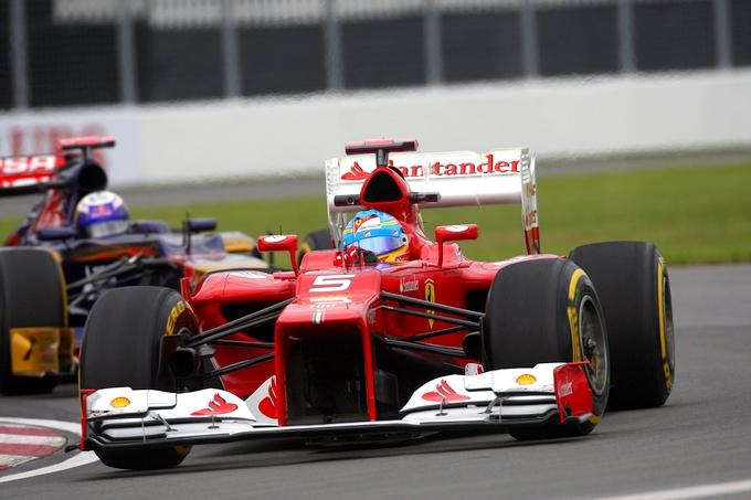 GP Canada, Prove Libere 2: Alonso tallona Hamilton, Massa 3° precede Vettel