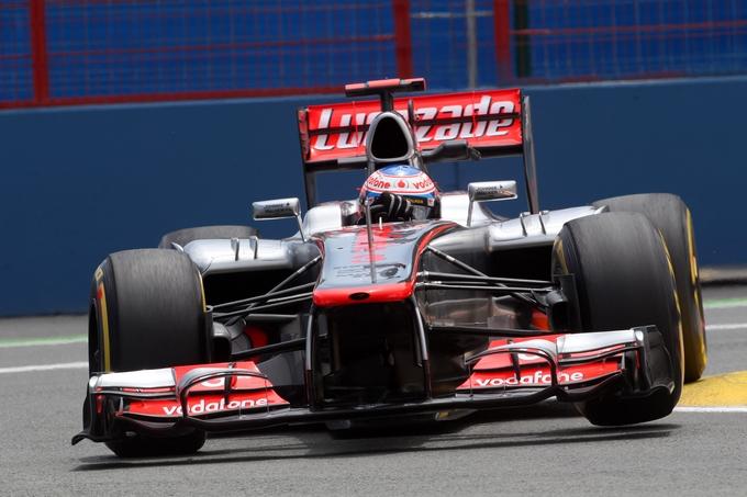 GP d'Europa, Prove Libere 3: riscatto per Button, indietro Ferrari e Red Bull