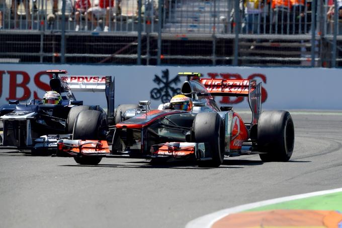 "Whitmarsh: ""Hamilton avrebbe dovuto avere un approccio diverso con Maldonado"""