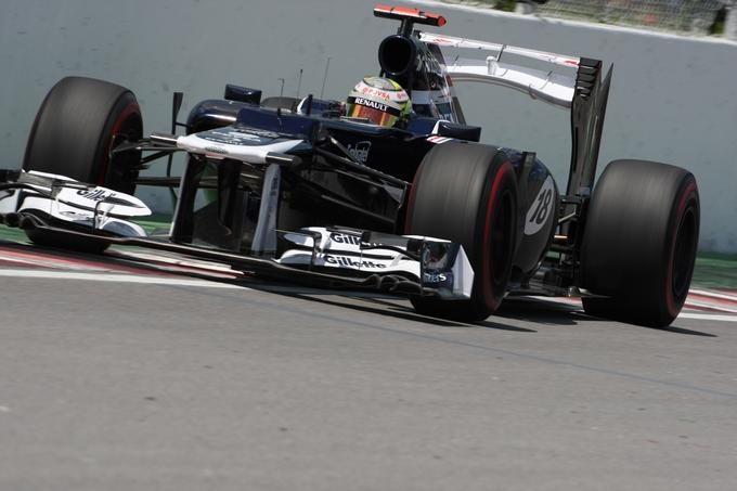 GP Europa, Prove Libere 1: Maldonado comanda davanti alle Red Bull, Alonso 5°