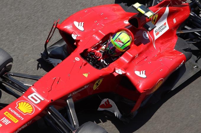 """Massa: """"La Ferrari era al livello dei migliori, ma sono stato danneggiato a inizio gara"""""""