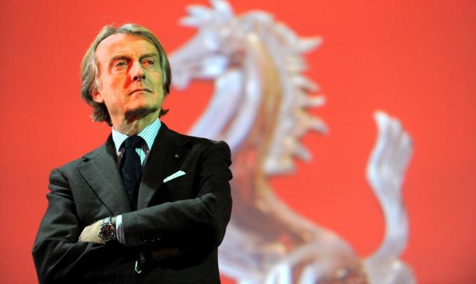 Luca di Montezemolo nominato Manager Europeo del 2012