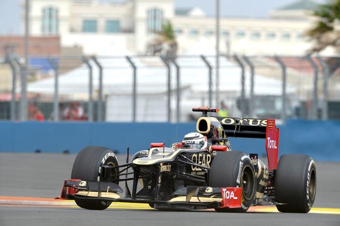 """Raikkonen: """"Ottimisti, la Lotus è forte nel ritmo gara"""""""