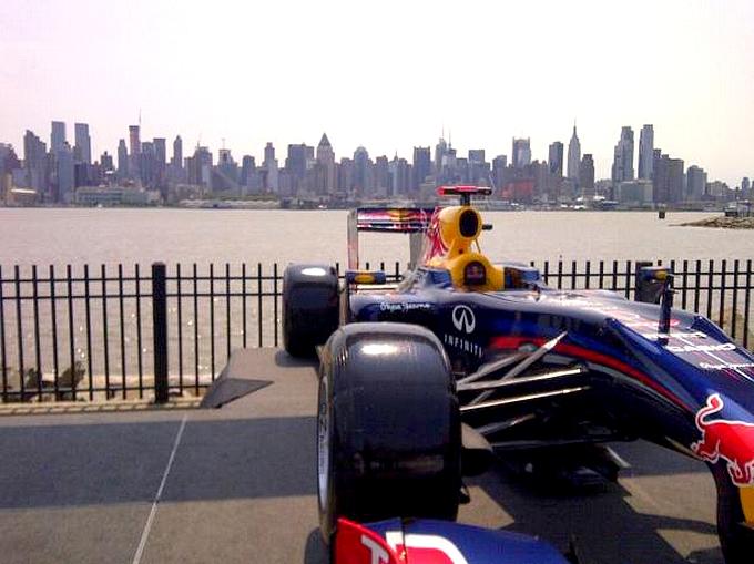 Vettel tiene a battesimo il GP del New Jersey