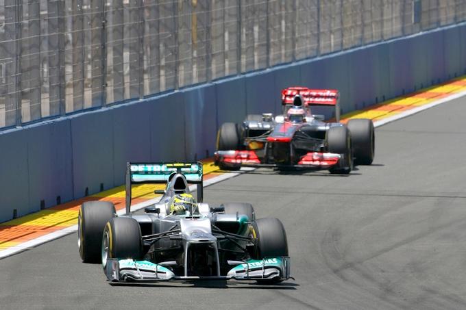 """Rosberg: """"Ringrazio lo stratega della Mercedes"""""""