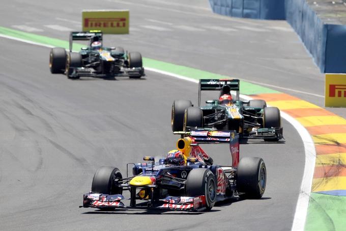 """Webber: """"E' stata una gara pazzesca e molto dura"""""""