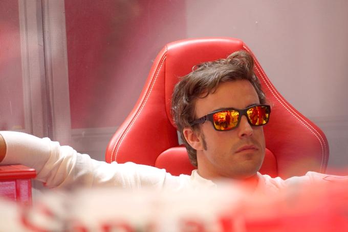 """Alonso: """"Consapevoli che sull'asciutto non possiamo lottare per la pole"""""""