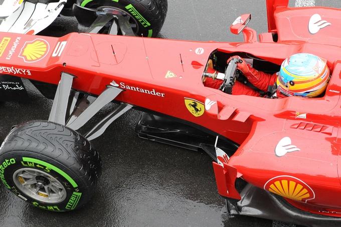GP Gran Bretagna, Prove Libere 3: con l'asciutto Alonso vola, Vettel 4°