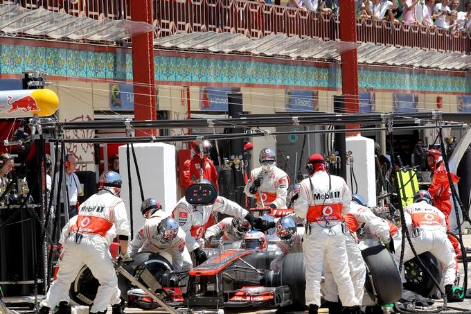 "McLaren: ""Possibile un pit-stop in due secondi"""