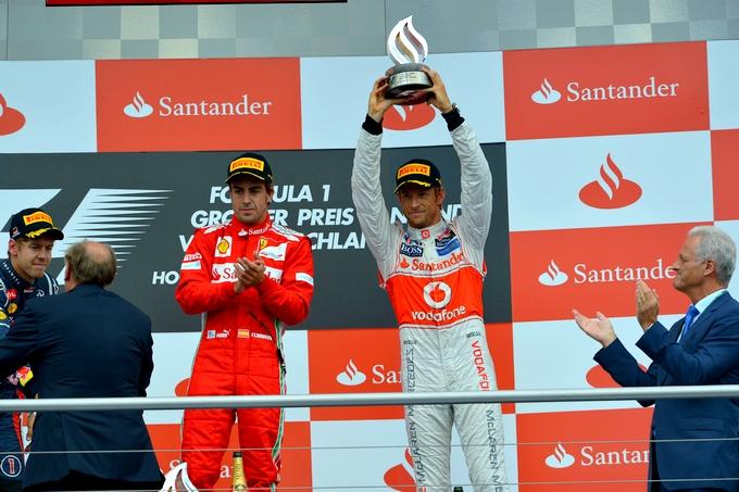"""Button: """"La pena a Vettel è meritata"""""""