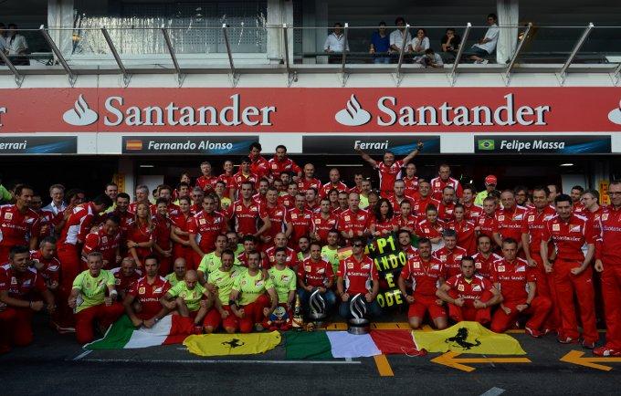 """Ferrari, Montezemolo: """"Ringrazio la squadra e Fernando per questa bellissima vittoria!"""""""