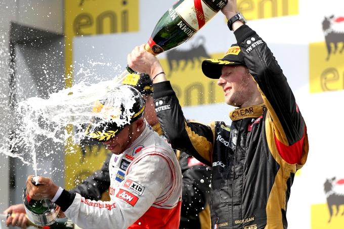 """Grosjean. """"Raikkonen ha lottato regolarmente"""""""