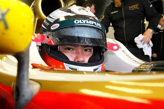 Ma Quing Hua testa la HRT, la Cina arriva in F1