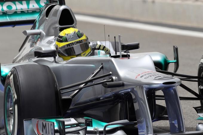 """Rosberg: """"La Mercedes potrà fare molto bene sui rettilinei di Hockenheim"""""""