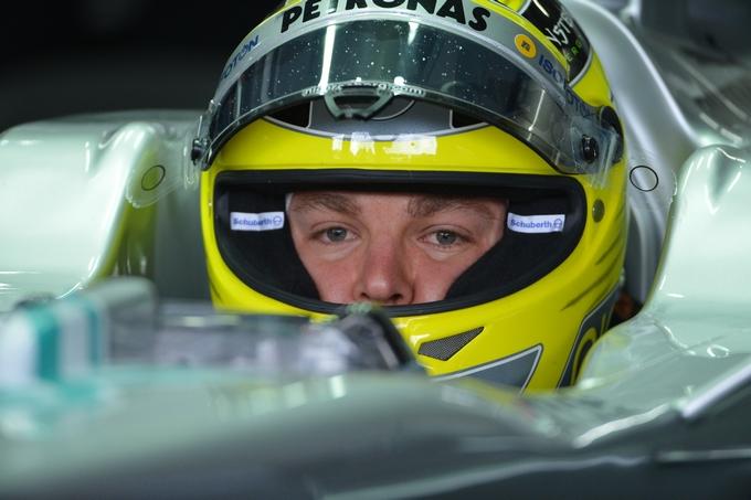 Rosberg penalizzato di cinque posti in griglia