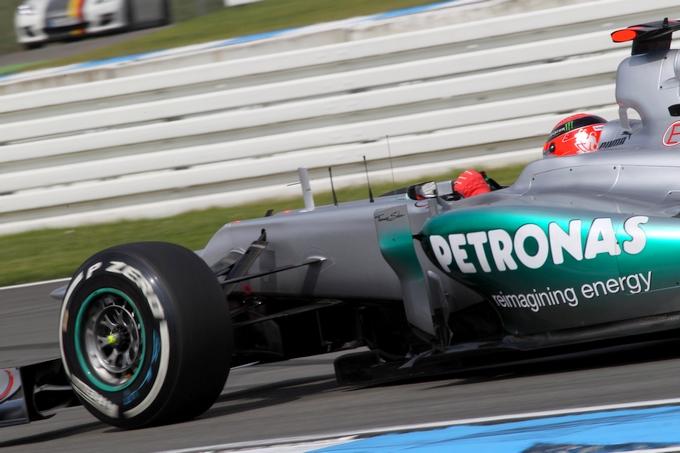"""Schumacher: """"Siamo più avanti di quanto ci aspettassimo alla vigilia"""""""