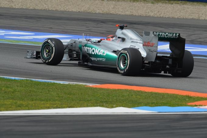"Schumacher: ""Ho spremuto tutto dalla vettura"""