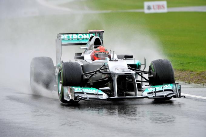 """Rosberg e Schumi: """"Se pioverà in gara per noi non farà differenza"""""""