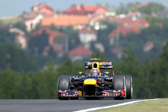 "Webber: ""Spero in una gara bagnata"""
