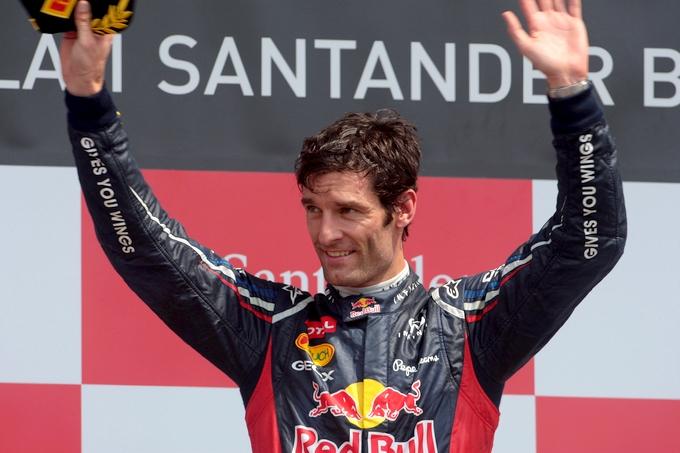 Webber rinnova con la Red Bull per il 2013
