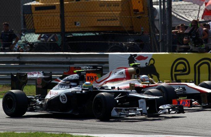 """Williams, Bruno Senna: """"E' stato un grande sforzo da parte del team oggi entrare nella zona punti"""""""