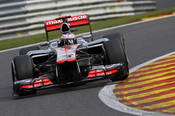 Gp del Belgio a Spa: vince Button davanti a Vettel e Raikkonen