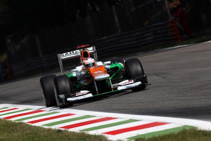 Gran Premio d'Italia, Paul di Resta soddisfatto a metà