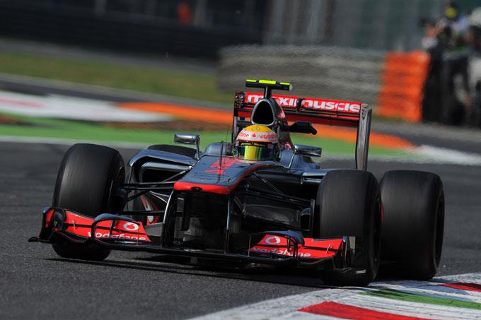 GP Italia Prove Libere 2: Hamilton precede Button e Alonso