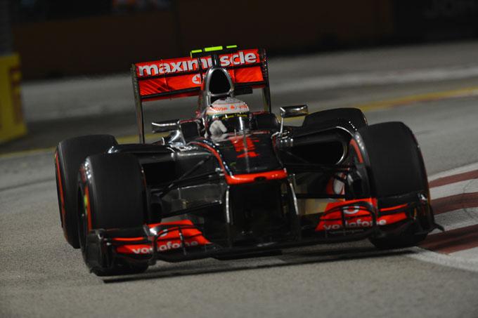 GP Singapore, Hamilton in pole position