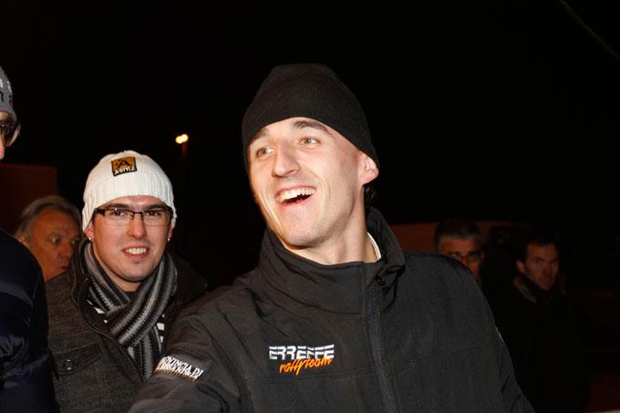 Robert Kubica torna a correre nei rally