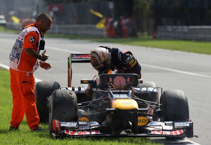 """Sebastian Vettel: """"Il ritiro di Monza non modifica le mie chance di vincere il Mondiale Piloti"""""""