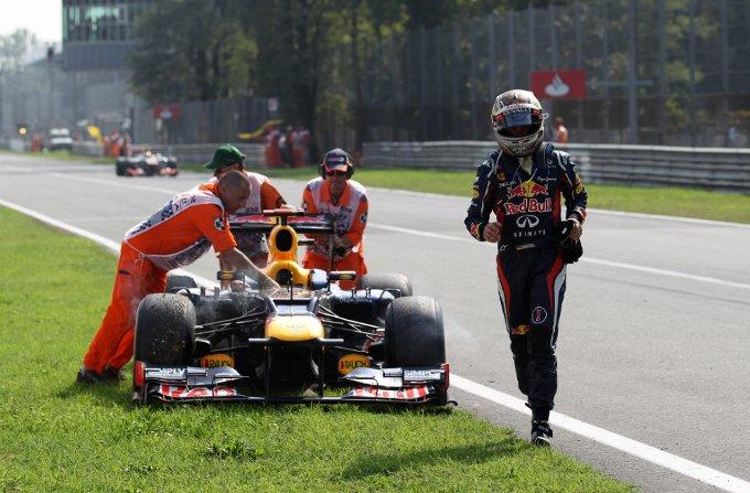 Red Bull : Una gara deludente per Vettel e Webber a Monza