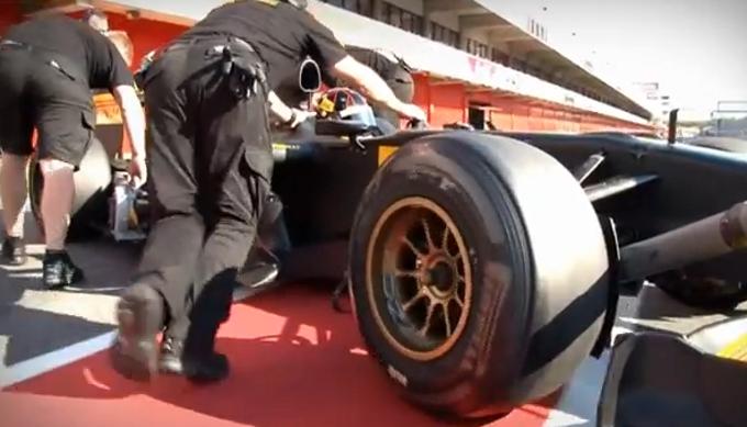 Video dei test Pirelli al Montmelo'