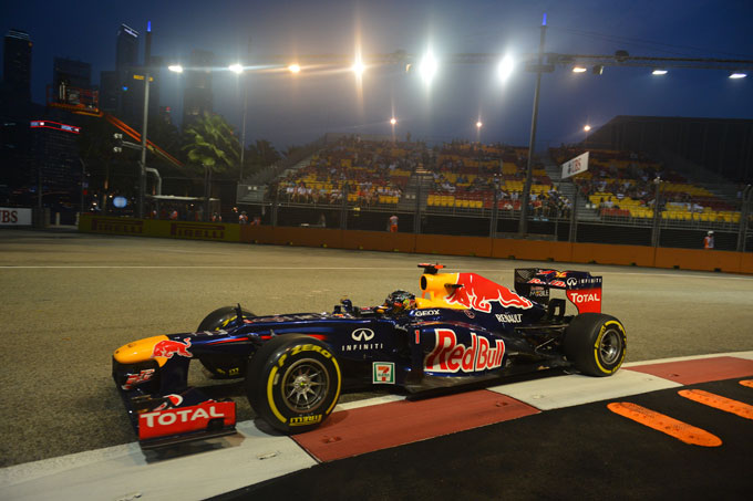 GP Singapore Prove Libere 2: Vettel precede Button e Alonso
