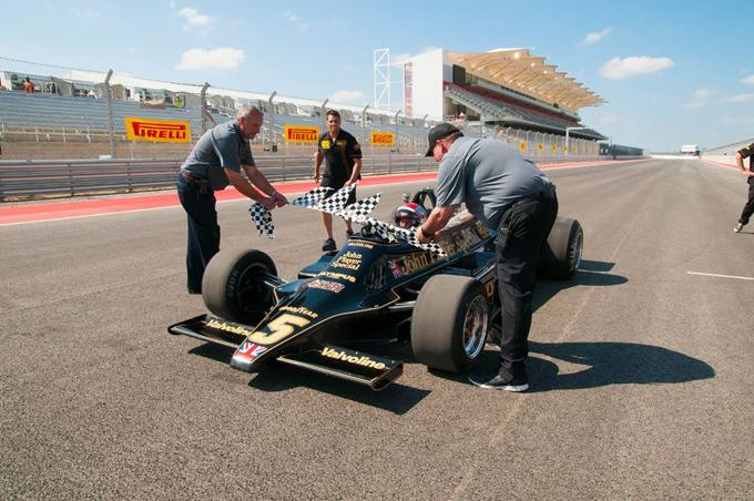 Mario Andretti inaugura il Circuit of The Americas