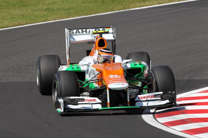 GP Giappone, Hulkenberg penalizzato