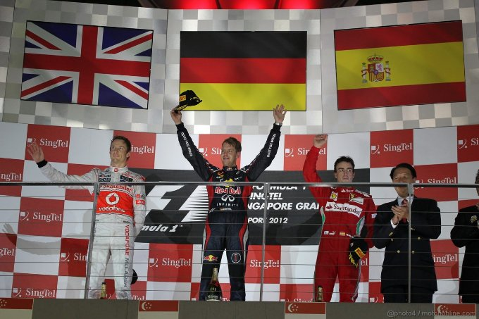 Pagelle del GP di Singapore 2012