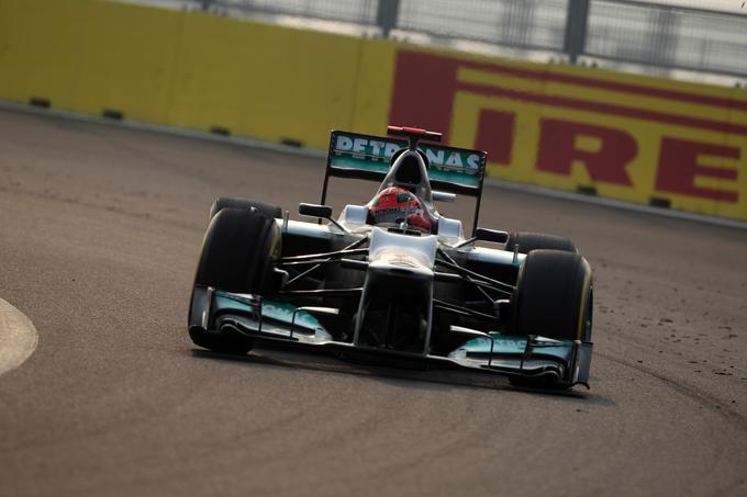 Mercedes, una gara da dimenticare per Schumacher e Rosberg in Corea